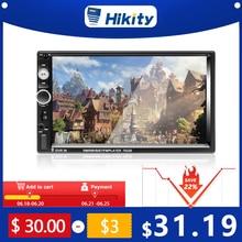"Hikity Universal 7023B Car Multimedia Player Autoradio 2din Stereo 7"" Touch Screen Video MP5 Player Auto Radio Backup Camera"