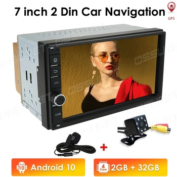Car Radio 2 Din Android 10 Car Multimedia Player Autoradio 2din nodvd Player For Volkswagen Nissan Hyundai Kia toyota CR-V 2+32G image