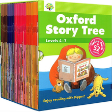 52 Books 4-7 Level Oxford Story Tree Baby English Story Picture Book Baby Children Educational Toys Description: Category: Eng