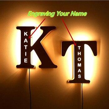 Personalized Name Sign LED Night (Customizing)