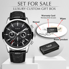 LIGE Men Watches 2020 Top Brand Luxury Sports Chronograph Men Wrist Watch Milita
