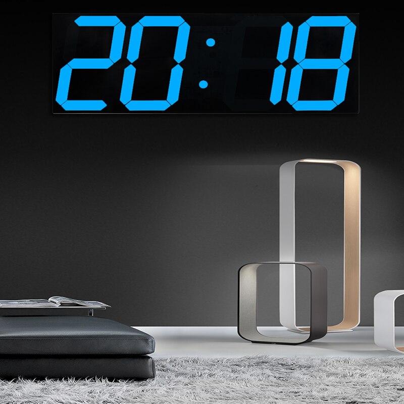 relojes digitales pared