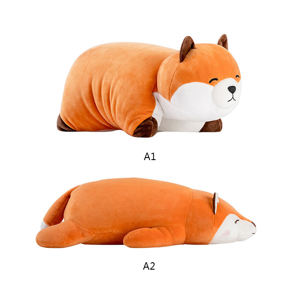 1pc Kids Cute Fluffy Fat Fox Plush Toy Stuffed Soft Animal Cartoon Pillow Lovely Gift For Girlfriend Children Toys HOt Sale