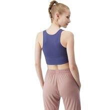 Женский топ на бретелях для фитнеса спортивный груди сексуальное