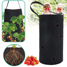 2Pcs/Set Multi-layer Strawberry Planting Bag Wall-mounted Seeds Vegetable Grow Hanging Garden Pots Plant