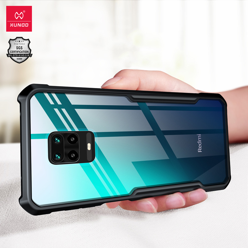 Xundd Case For Redmi Note 9S 9Pro Max Shockproof Phone Cover Airbag Bumper Transparent Silicone Soft Shell Protective Phone Case(China)