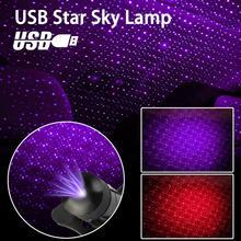 USB автомобиля автомобиля Сид комнатной атмосфере звезды света DJ RGB красочные музыка лампы Рождество декоративные свет