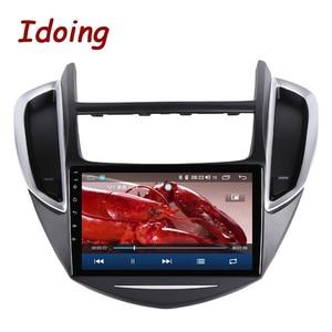 "Image 4 - Idoing 9 ""4G + 64G 2.5D IPS Octa Core Android auto Radio Multimedia Player GPS para CHEVROLET TRAX 2014 2016 DSP de navegación GPS"