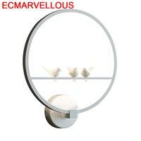 Moderna Aplik Lamba Tete De Lit 데코 메종 드레싱 테이블 가정용 Aplique Luz Pared Wandlamp 침실 조명 벽 램프