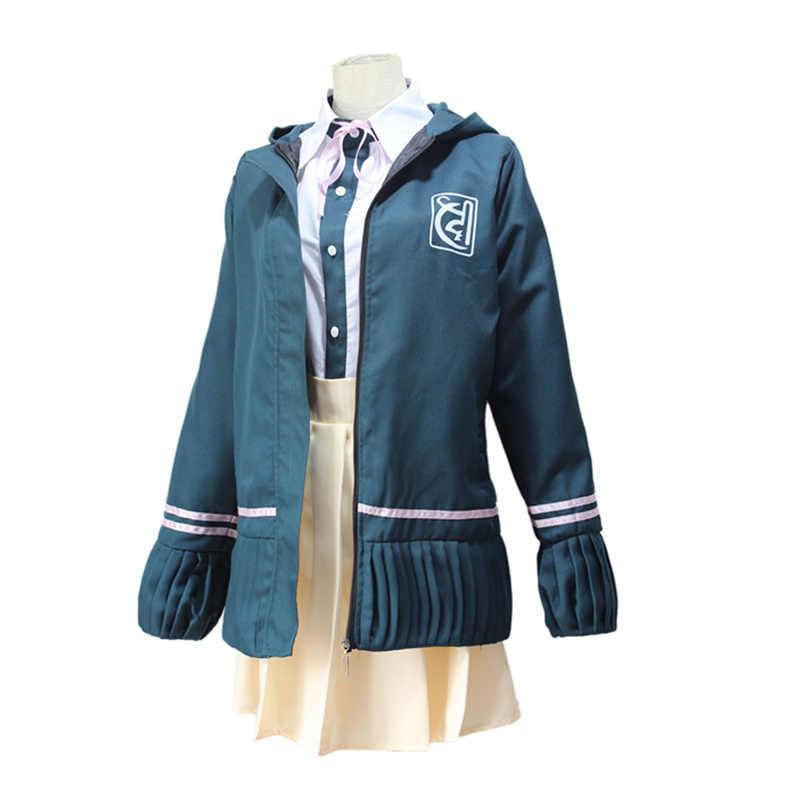 Nanami ChiaKi костюм Danganronpa 2 косплей школьная форма для девочек Женский костюм моряка японский аниме косплей костюм на Хэллоуин