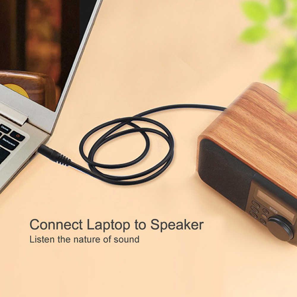 LDAMAI przewód Aux 3.5mm Jack to 3.5mm Jack kabel Audio głośnik linia samochód słuchawki Aux przewód do iPhone'a Samsung Xiaomi Audio kabel