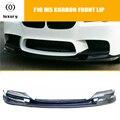 F10 M5 3D Стиль углеродное волокно переднего бампера подбородка спойлер для BMW оригинальный M5 & 520 528 535 550 изменения в Тайвань в M5 бампер
