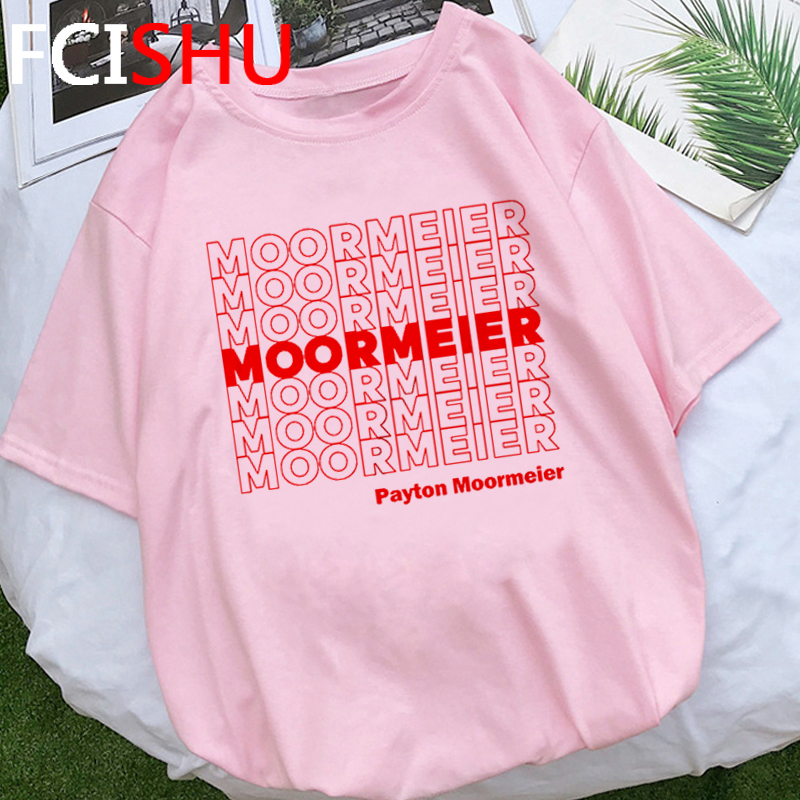 Payton Moormeier Merch Funny T Shirt Men Moormeier Repeat Graphic T-shirt Hip Hop Streetwear Unisex Tshirt Fashion Top Tees Male