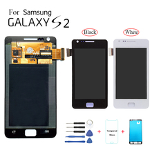 Original For Samsung S2 I9100 I9105 Display LCD Screen replacement for samsung i9105 i9100 Pantalla Display lcd Screen module