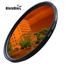 GloryStar 52-82mm Ir680 Ir720 Ir760 Ir850 Ir950 Infravermelho Infra-red Ir Filtro 720nm Diversão Fotografia Artística filtro da Lente Da câmera