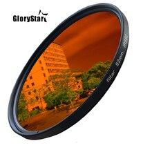 GloryStar 52 82mm Ir680 Ir720 Ir760 Ir850 Ir950 infrarrojo Ir filtro 720nm diversión fotografía artística Filtro de lente de cámara