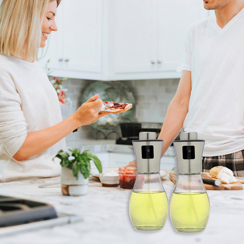 Olive Oil Sprayer Dispenser for Cooking , 3 IN 1