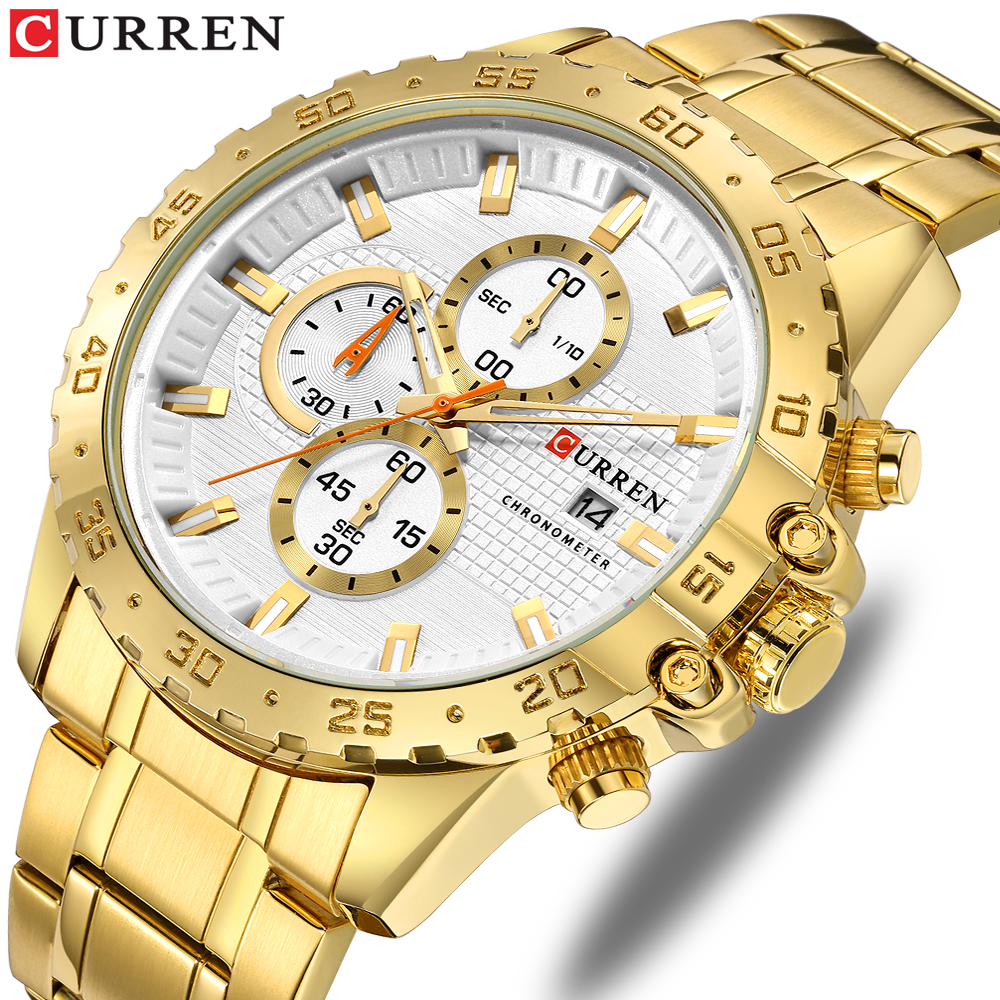 relógios de quartzo esportes masculinos nice looking