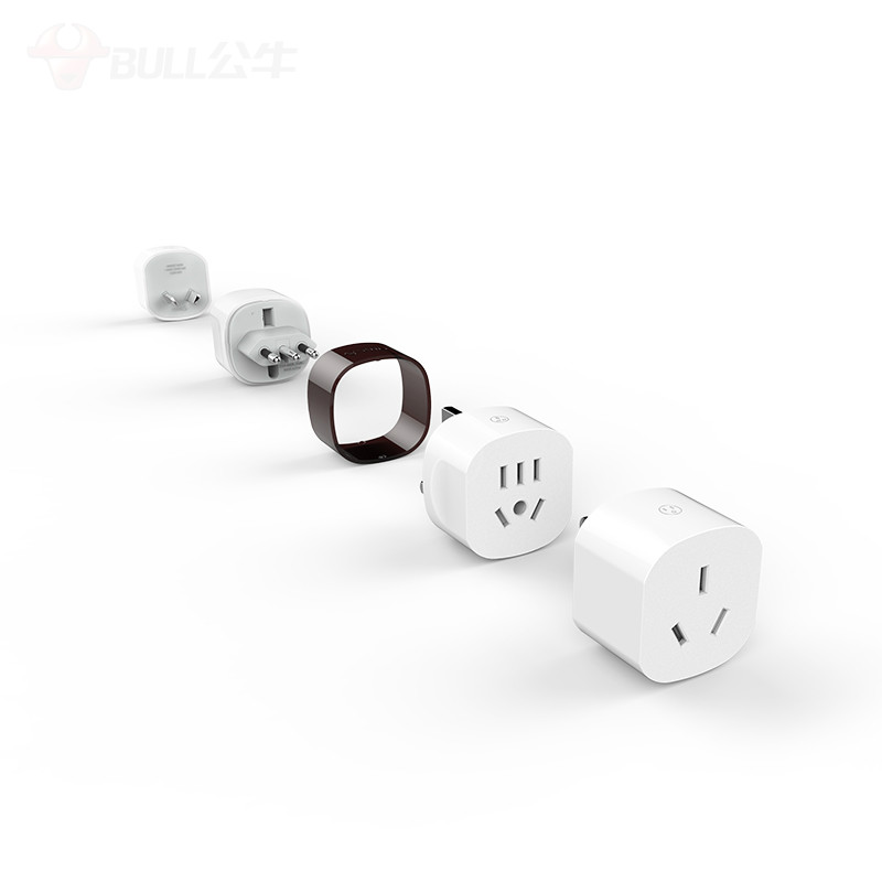 Electrical Sockets Bull socket usb multi-international universal travel adaptor Hong Kong version European standard Japan German