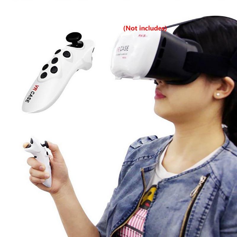Venda quente óculos vr controle remoto mini móvel joystick android gamepad controlador sem fio vr óculos remoto
