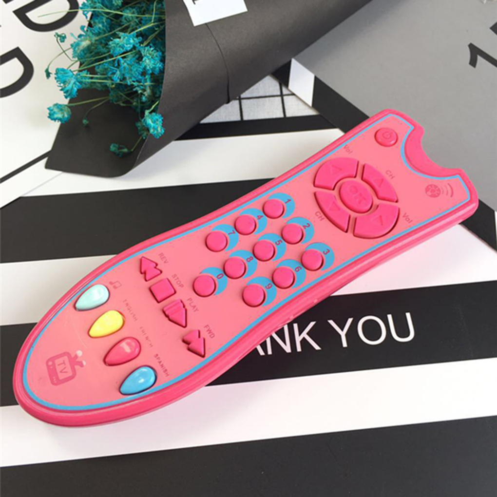 Baby Toys Music Mobile Phone TV Remote Control Early Educational Toys Electric Numbers Remote Learning Machine Toy Gift For Girl