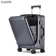 PC Trolley Suitcase Rolling-Luggage Laptop-Bag Wheels Business-Boarding Women 20/24inch