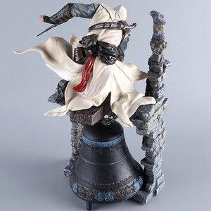 Image 2 - Renkli batı Assassin yol oyuncak altay saat kulesi aksiyon figürü 26cm Altair efsanevi Anime figürü