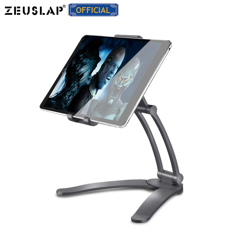Rotating Portable Monitor Wall Desk Metal Stand Fit For Below 15.6inch Monitor Tablet Mobile Phone Holders