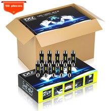 DXZ 50Pcs C5W C10W Festoon-39MM CSP 1860 NENHUM ERRO Lâmpadas LED Canbus Car Interior Dome Luzes de Leitura Luz 12V/V 3 24 W Universal