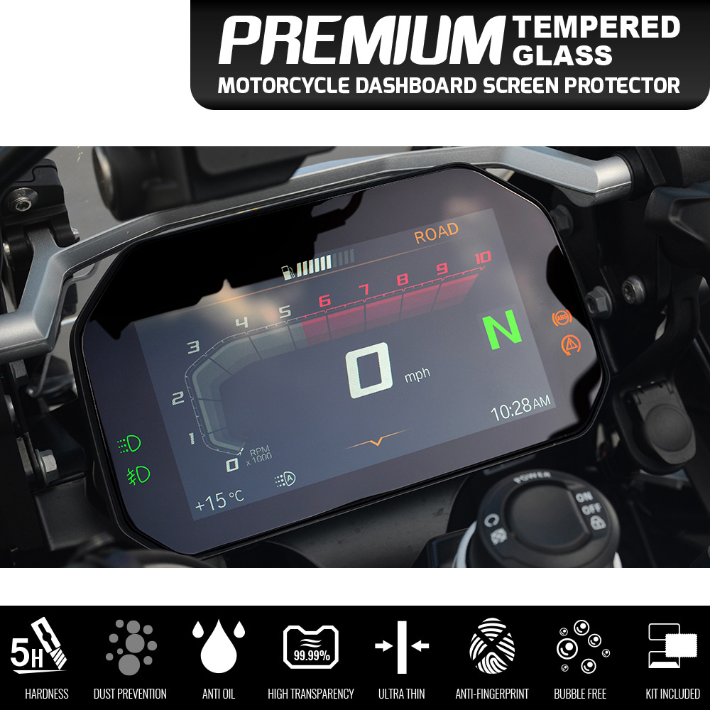 For <font><b>BMW</b></font> <font><b>R1200GS</b></font> C400X F750GS F850 R1250GS Adventure 2018 Cluster Scratch Protection Film Screen Protector motorbike LC Adventure image