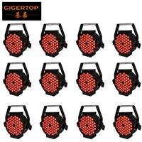 Freeshipping 12 54 pçs/lote New RGB LED Strobe Light Stage 3 Watt DMX-512 25 PAR Disco DJ Party Iluminação 200W Ângulo Da Lente Grau