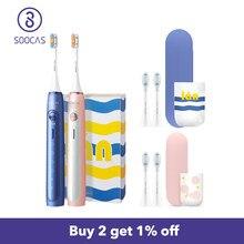 SOOCAS X5 brosse à dents électrique avec Protection contre les surtensions et rappel