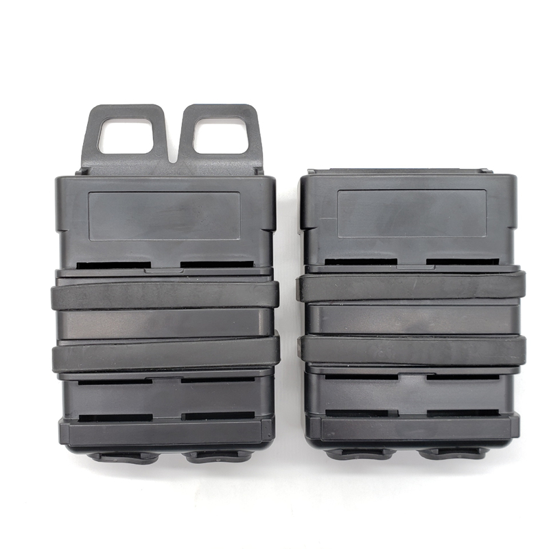 Tactical 5.56 M4 Molle Magazine Pouch Mag Airsoft Rifle Magazine Pouch Clip Belt Shell Cartridge Hunting Accessory for AR-15 M16 image