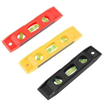 1 Pcs 15cm Multicolor Spirit Level 3 Bubble Level Magnetic Torpedo Gradienter Level Measuring Tool For Leveling Pipe And Conduit image