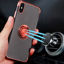 FLOVEME Sexy Blue Light Ray Phone Case for iPhone 7 6 6s plus 5 5s SE Gradient Ultra Thin Plating Cover Capa