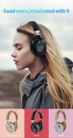 Bluetooth headphones active noise
