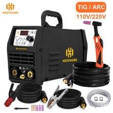 TIG200P Tig Welder Welding-Machine Argon Pulse HZXVOGEN HF 110V/220V 2-In-1 Solder-Wire