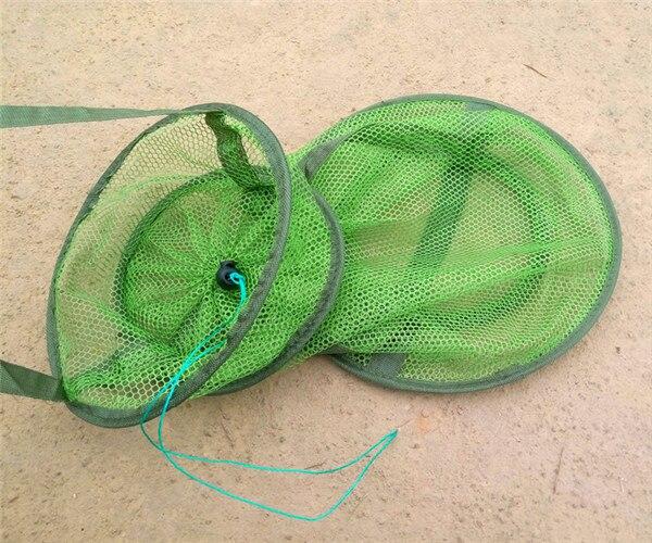 -Fishnet Pocket Fine-mesh Close Eye String Bag Small Fish Protection Ommatidia Net Pocket Fishnet Fish Nursing Fish Basket Fish