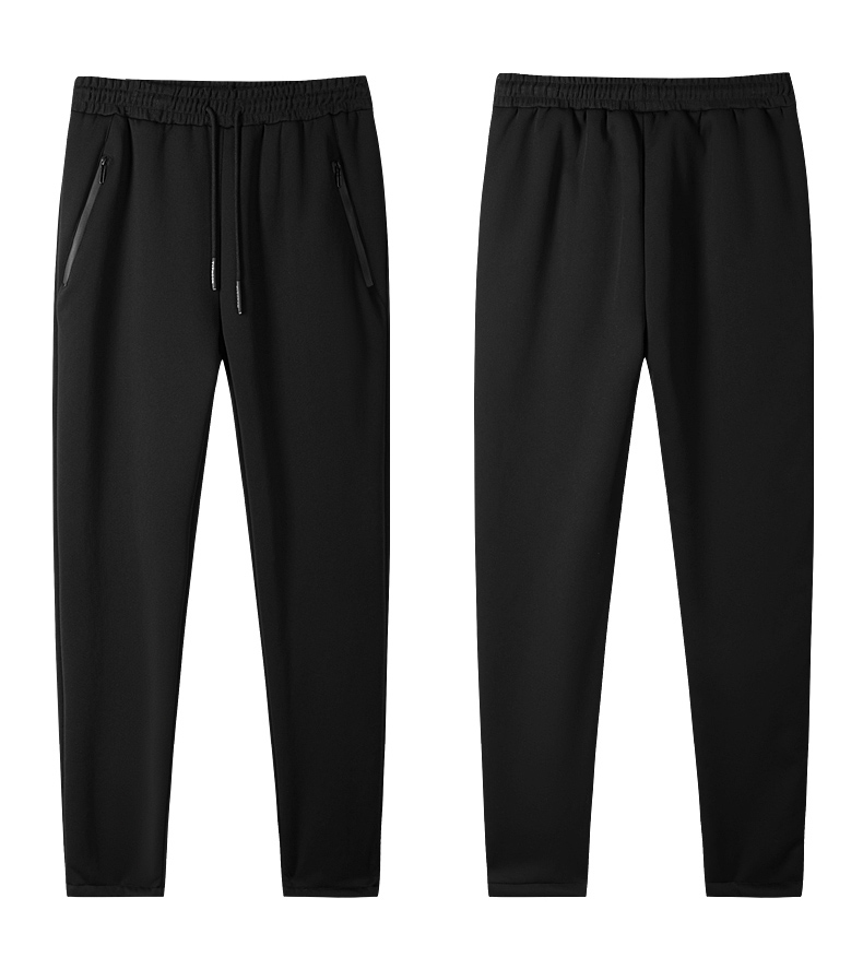 sweatpants calças masculinas de veludo calças casuais, za295