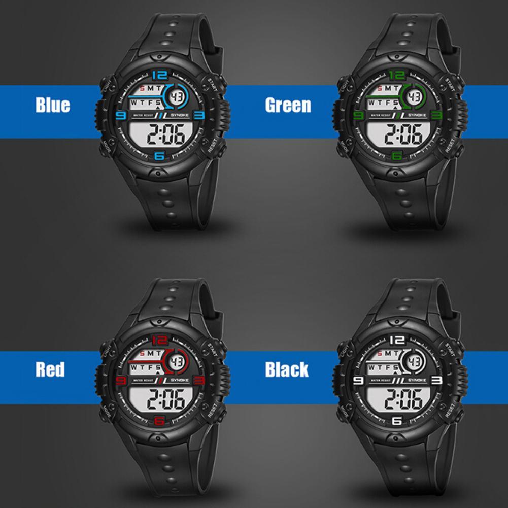 Fashion Men Outdoor Sport Waterproof Alarm Date Stopwatch Digital Wrist Watch Relogio Stopwatch Digital Relogios  Fashion Sport