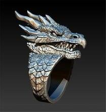 Мужское кольцо в стиле панк ювелирные изделия аксессуары вечерние