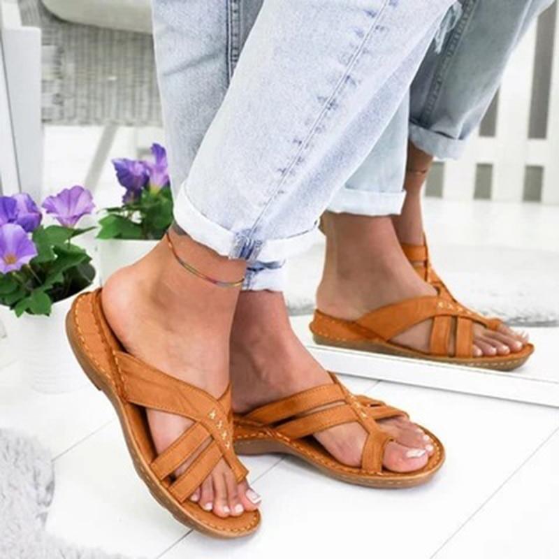New Sandals Shoes for Woman Ladies Platform Sexy Flip Flops Wedges Summer Casual Slippers High Heels Block Stripper Heels Slide