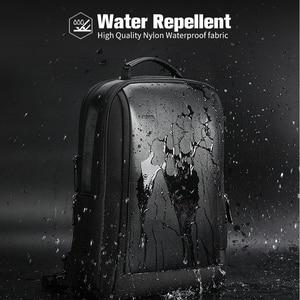 Image 3 - BOPAI marka büyüt sırt çantası USB harici şarj 15.6 inç Laptop sırt çantası omuzlar erkekler Anti Theft su geçirmez seyahat sırt çantası