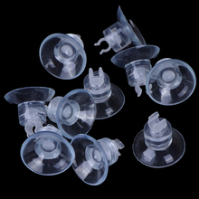 Aquarium Sucker Wire-Holder Suction-Cup Pipe-Tube Glass-Surface Fish-Supples 10pcs