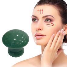 Quartz Mushroom Massage Stone Crystal Jade Facial Body Foot GuaSha Thin Anti-wrinkle Relaxation