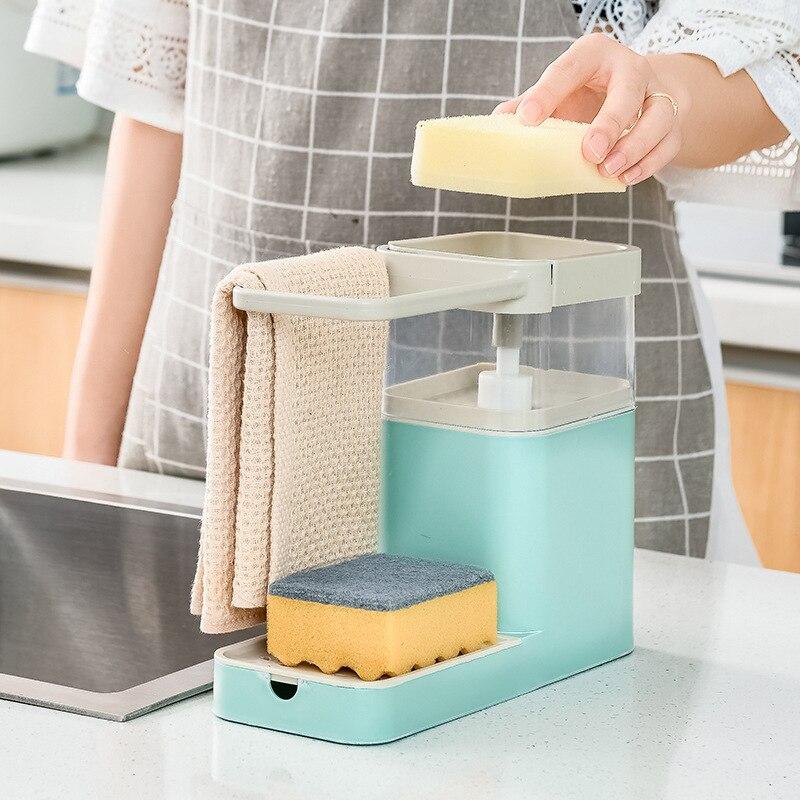 Новый многофункциональный средство для мытья и чистки горшок, прессование, автоматическое жидкое моющее средство, жидкости в поле, кухонна...