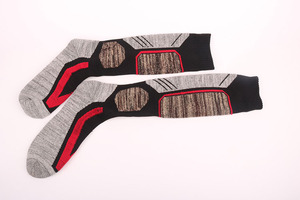 Image 5 - High Quality Cotton Thick Cushion Knee High Ski Socks Winter Sports Snowboarding Skiing Socks Warm Thermal socks