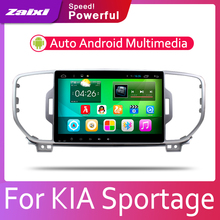 ZaiXi Car Android System 1080P IPS LCD Screen For Kia Sportage KX5 2015~2019 Car Radio Player GPS Navigation BT WiFi AUX цена 2017