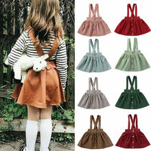 Toddler Kids Baby Girls Dress Top Tutu Skirt Suspender Wedding Party Overalls Dresses Outfit Clothes 1-6Years(China)