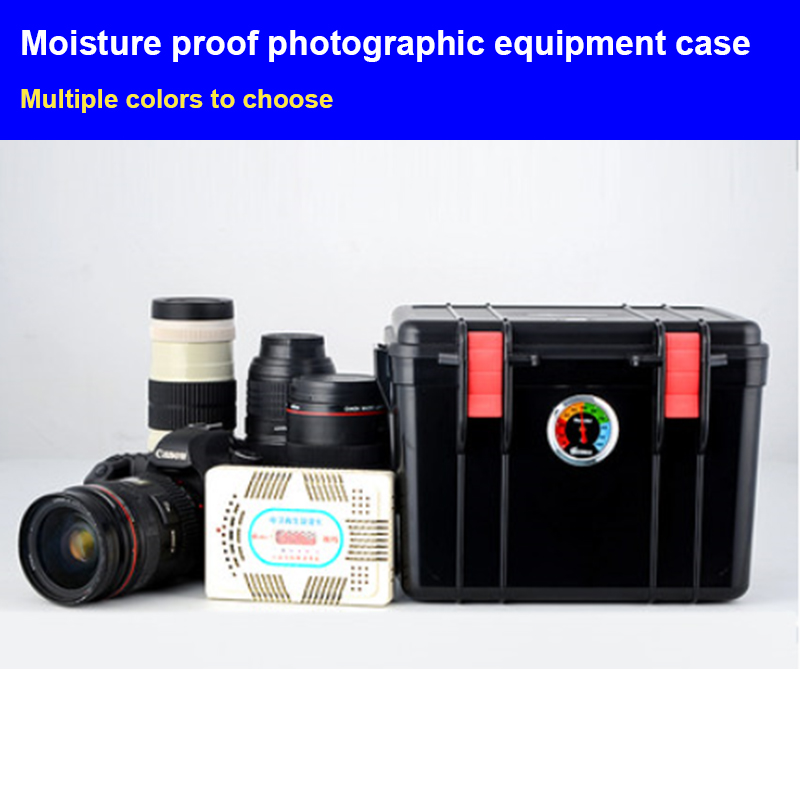 High Quality Waterproof Box Tool Case Photographic Camera Hard Case Plastic Case Toolbox Impact Resistant Sealed With Cut Foam